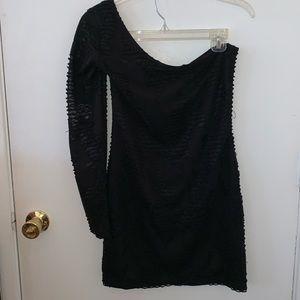 Symphony Black Cocktail Dress | Size Medium